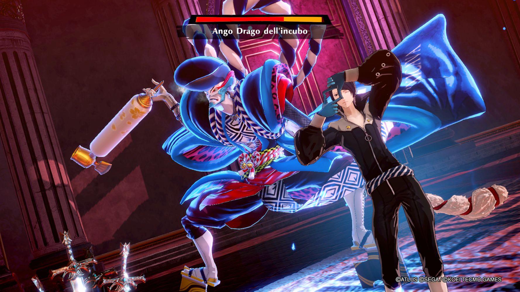 Fox in azione in Persona 5 Strikers
