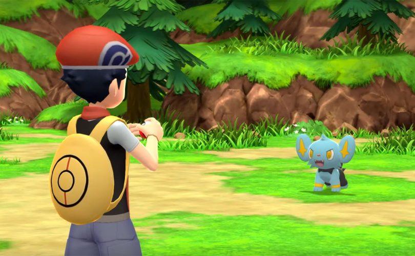 Pokémon Diamante Lucente e Perla Splendente annunciati per Nintendo Switch