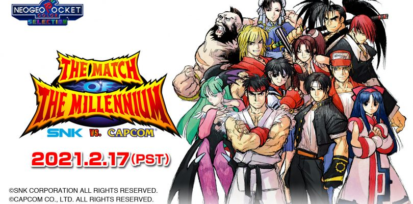 SNK VS. CAPCOM: The Match of the Millennium in arrivo su Nintendo Switch