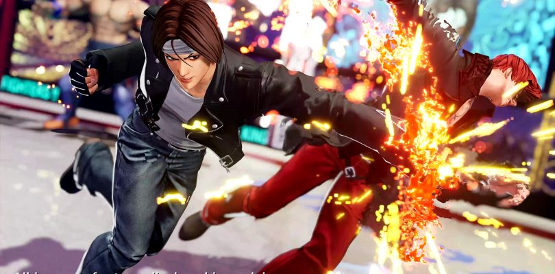 THE KING OF FIGHTERS XV Kyo Kusanagi