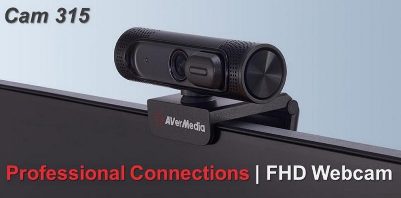 AVerMedia presenta le nuove webcam CAM 310P e CAM 315