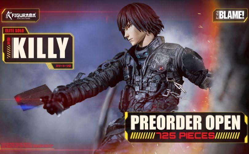 Pre-order aperti per la Blame! Killy Elite Solo Statue di Figurama Collectors