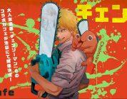 Chainsaw Man ospite dell'Animate Café di Ikebukuro