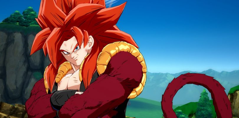 Gogeta (SS4) in DRAGON BALL FighterZ