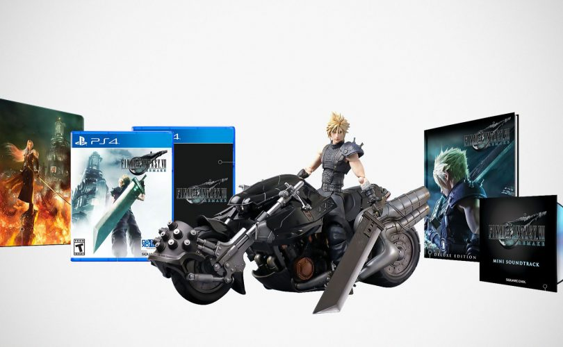 FINAL FANTASY VII REMAKE: torna disponibile la 1st Class Edition