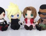 FINAL FANTASY VII REMAKE: in arrivo i plush di Cloud, Tifa, Aerith e Barret