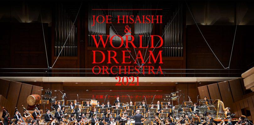 Il concerto Joe Hisaishi & World Dream Orchestra 2021 verrà distribuito globalmente