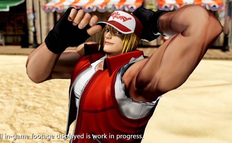 THE KING OF FIGHTERS XV: Terry Bogard completa il Team Fatal Fury