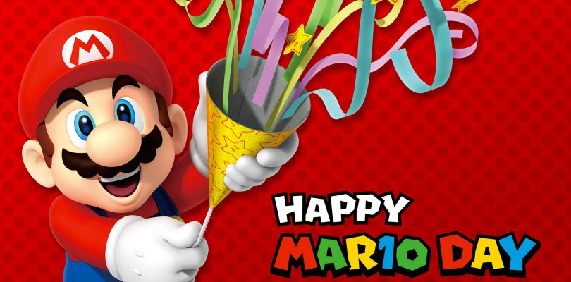 Anche quest'anno si celebra il MAR10 Day, la giornata dedicata a Super Mario