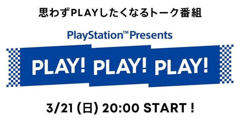 PlayStation: annunciata la diretta giapponese Play! Play! Play!