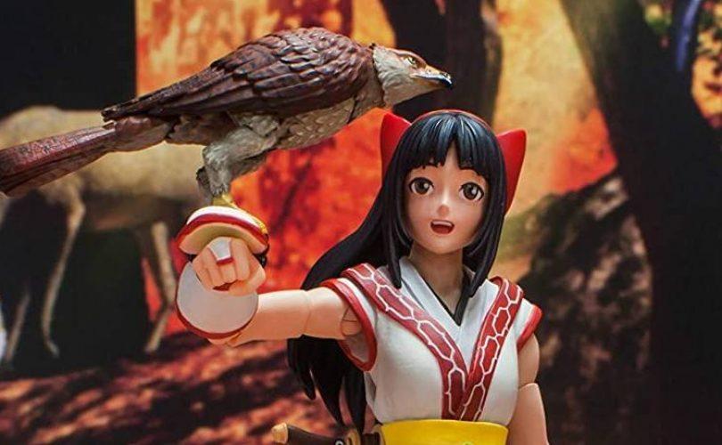 La figure di Nakoruru da SAMURA SHODOWN in arrivo questo autunno