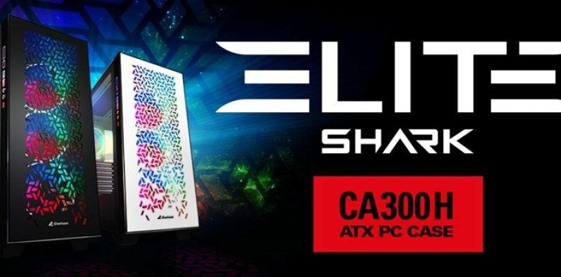 Sharkoon: presentato il case PC ELITE SHARK CA300H
