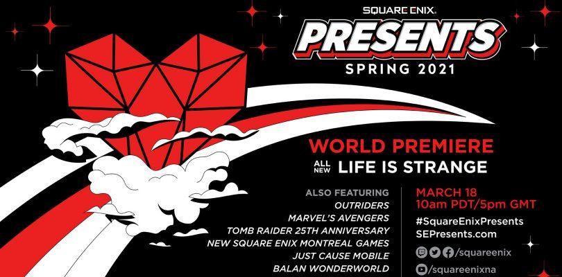 SQUARE ENIX PRESENTS annunciato per il 18 marzo