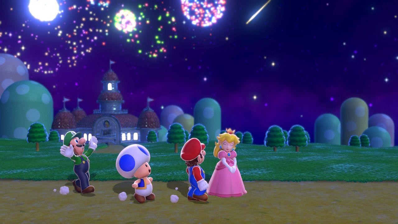 I protagonisti di Super Mario 3D World + Bowser's Fury