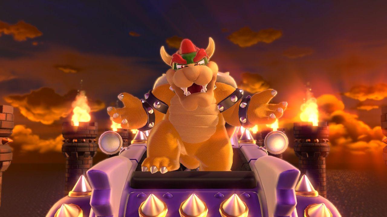 Il perfido Bowser in Super Mario 3D World + Bowser's Fury