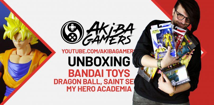 VIDEO Unboxing – Action Figure BANDAI di Dragon Ball, My Hero Academia e Saint Seiya