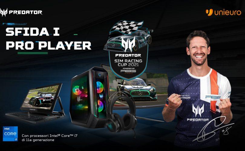 Acer annuncia insieme con R8G eSports la Predator Sim Racing Cup 2021