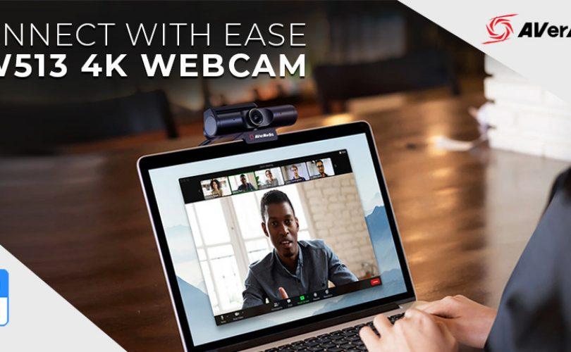 AverMedia: ecco la webcam PW513 4K, certificata da Zoom