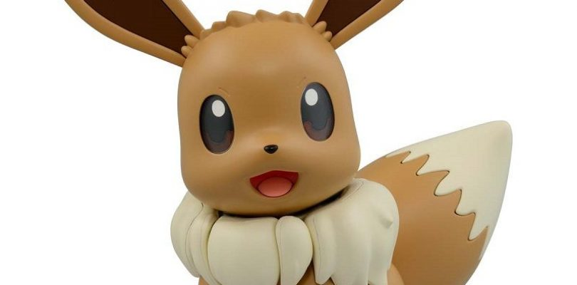 Pokémon: in arrivo la figure BIG SIZE assemblabile di Eevee