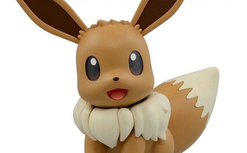 Pokémon: in arrivo la figure BIG SIZE assemblabile di Eevee