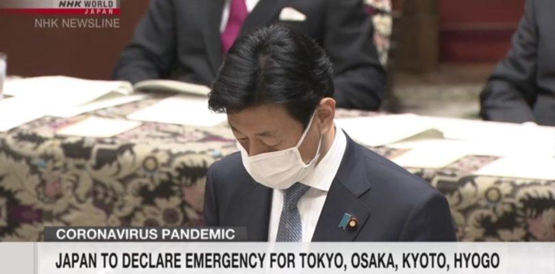 Il Giappone dichiara un nuovo stato di emergenza per quattro prefetture