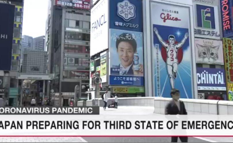 Giappone terzo stato di emergenza
