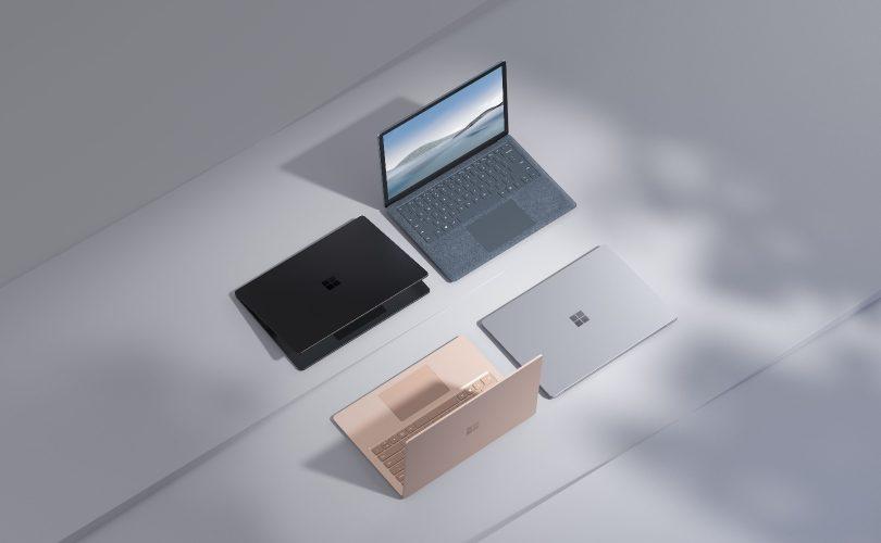 Surface Laptop 4: ecco il nuovo portatile di Microsoft