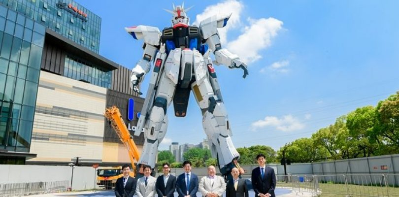 Completato il Freedom Gundam a grandezza reale di Shanghai