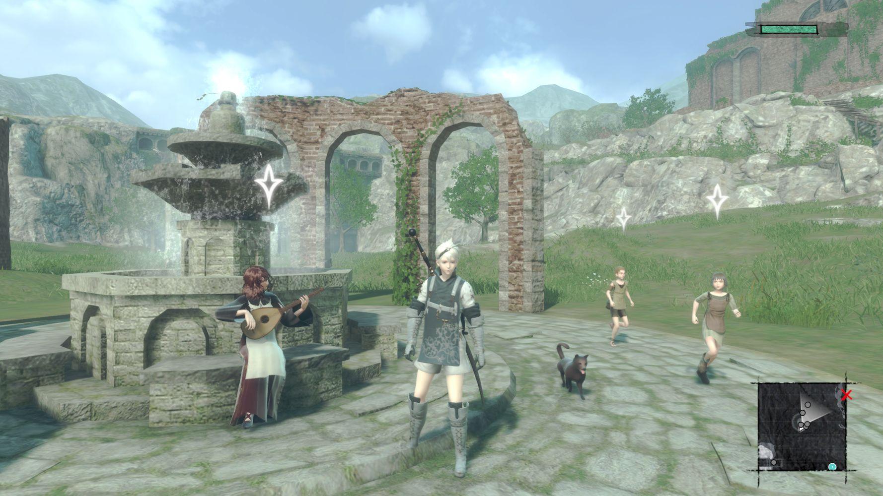 Il villaggio del protagonista in NieR Replicant ver. 1.22474487139…