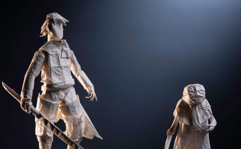 NieR Replicant: i protagonisti diventano splendidi origami