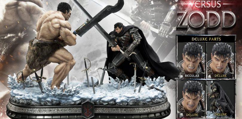 BERSERK: prenotazioni aperte per la statua Guts versus Zodd di Prime 1 Studio