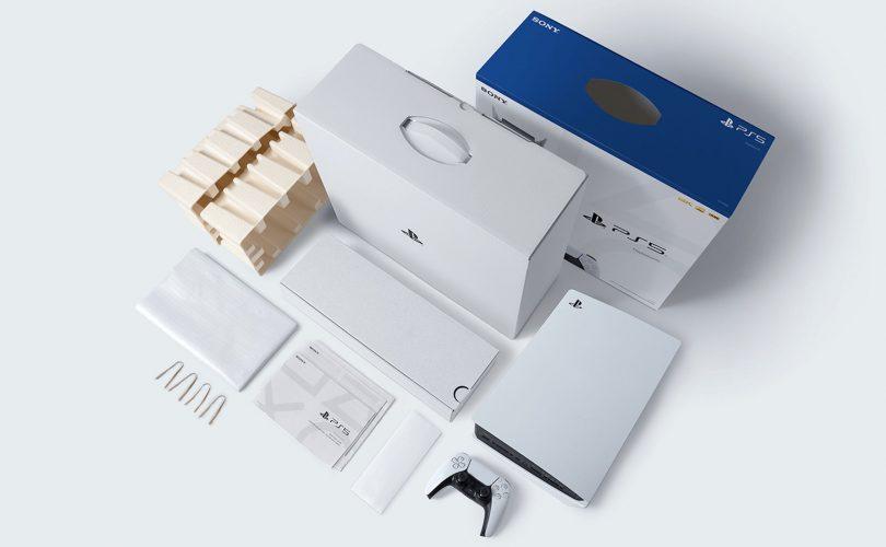 PS5: il packaging è completamente riclicabile