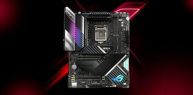 ROG Maximus XIII Apex: la motherboard ASUS raggiunge nuovi record