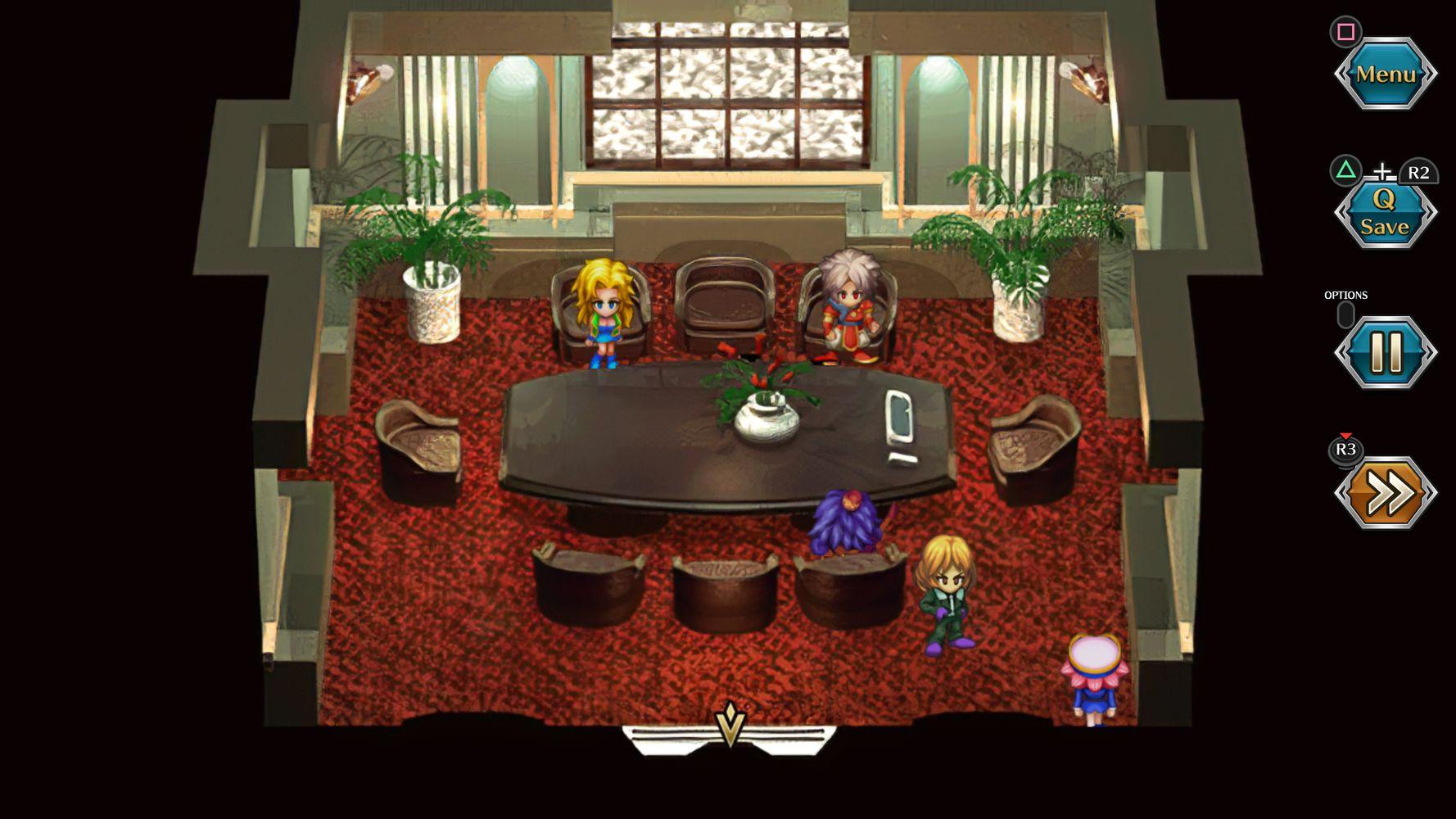 Fuse si rilassa con gli altri protagonisti di SaGa Frontier Remastered