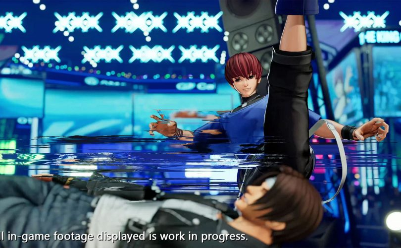 Chris in THE KING OF FIGHTERS XV