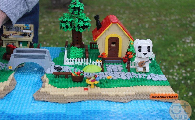 Animal Crossing: New Horizons si trasforma in un set LEGO
