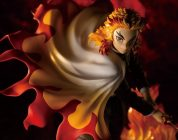 DEMON SLAYER: ecco la figure ARTFX J di Kotobukiya dedicata a Kyojuro Rengoku