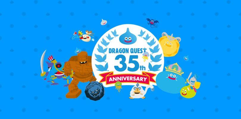 DRAGON QUEST: riepilogo degli annunci per il 35esimo anniversario
