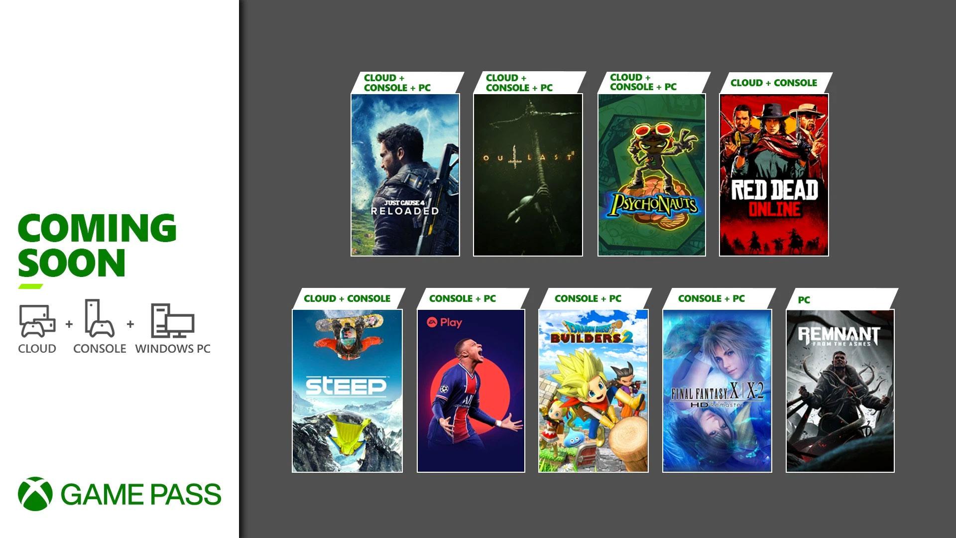 Game Pass giochi maggio