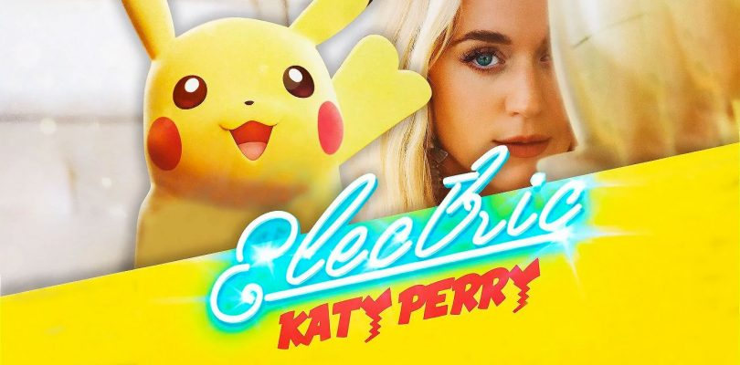 Pikachu è protagonista del nuovo video di Katy Perry
