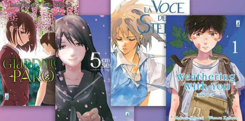 Star Comics annuncia MAKOTO SHINKAI COLLECTION