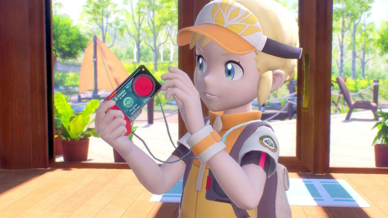 Il nostro avatar in New Pokémon Snap