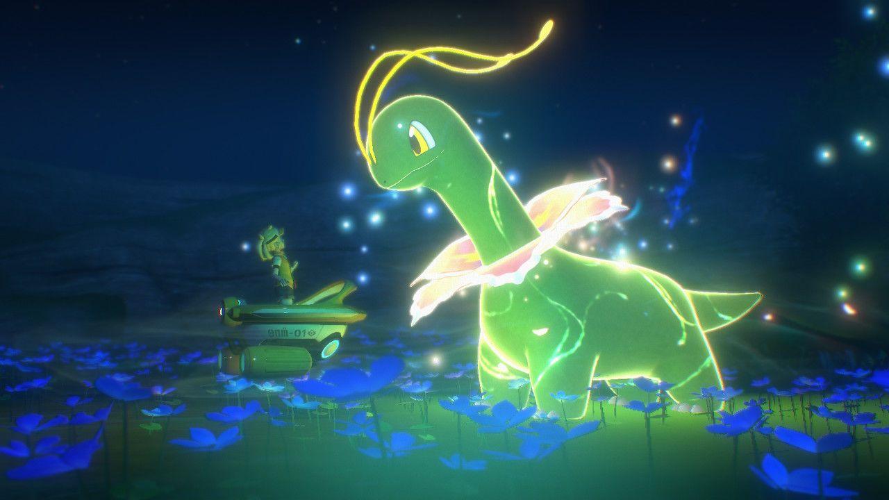 Il fascino di Meganium Lumina in New Pokémon Snap