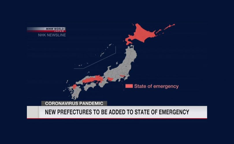 Le prefetture di Hokkaido, Okayama e Hiroshima entrano in stato di emergenza