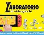 Laboratorio di videogiochi per Nintendo Switch