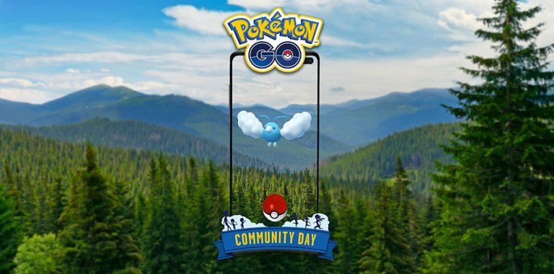 Pokémon GO: Swablu protagonista del Community Day di maggio