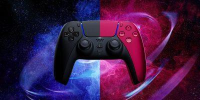 PlayStation 5: annunciati i controller Midnight Black e Cosmic Red