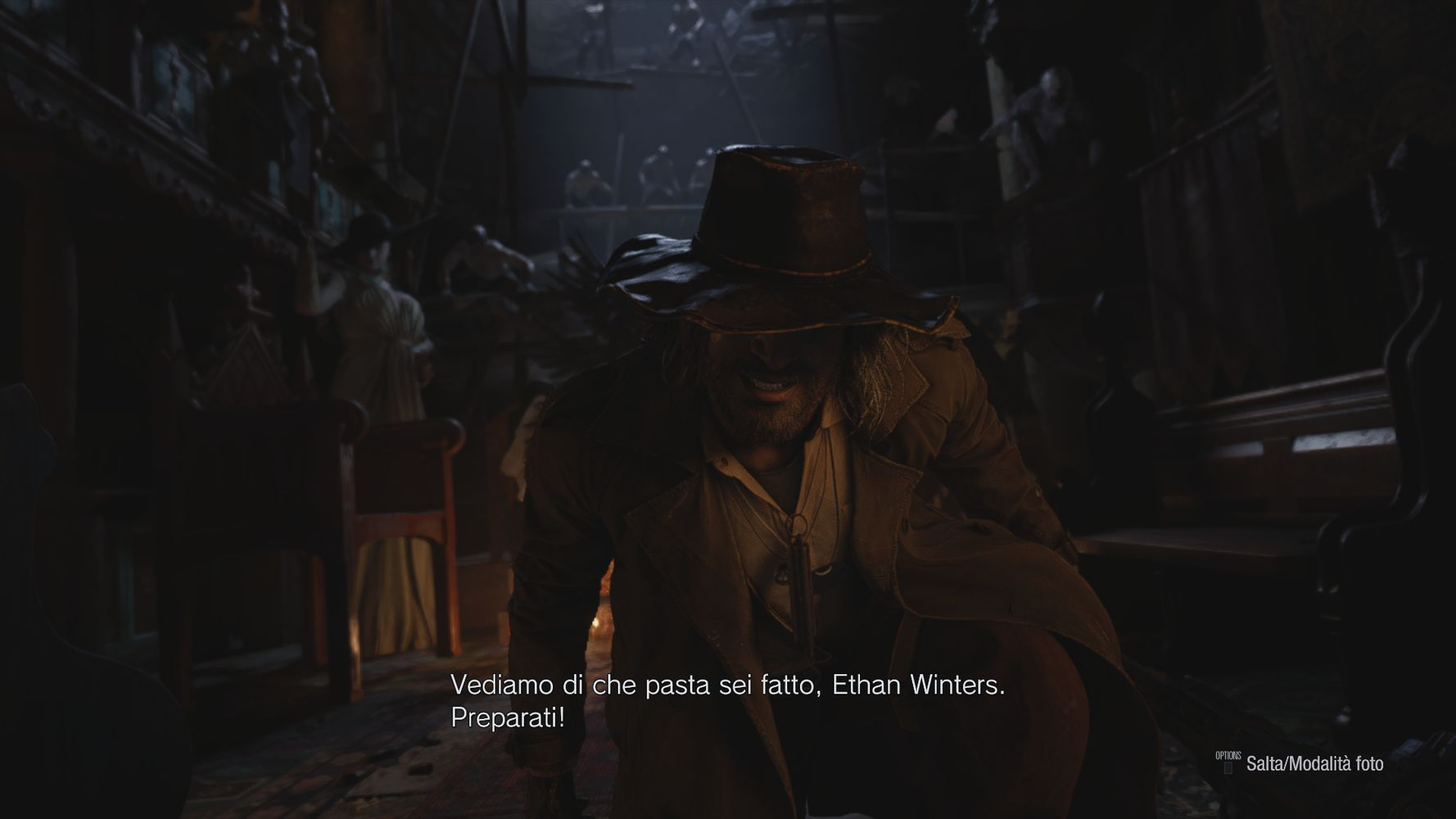 L'infido Heisenberg, tra gli antagonisti di RESIDENT EVIL VILLAGE