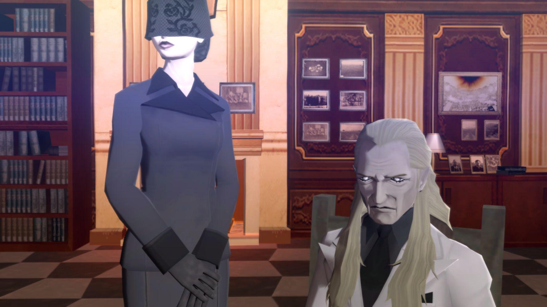 La misteriosa coppia che comparirà diverse volte durante il cammino di Semi-Demone