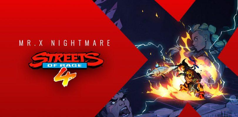 Streets of Rage 4 DLC Mr. X Nightmare